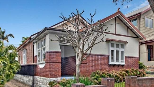 BRICK BY BRICK: 17 Napier Street, Canterbury proved a hit with bidders. Source: supplied.