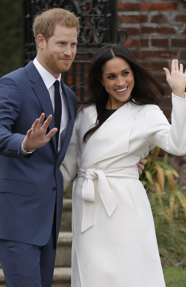 The happy couple. Picture: AP