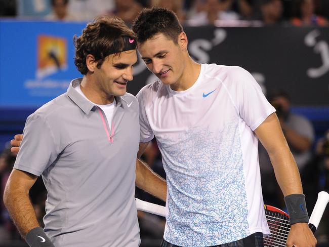 Bernard Tomic was a first round loser. (AP Photo/Andrew Brownbill)