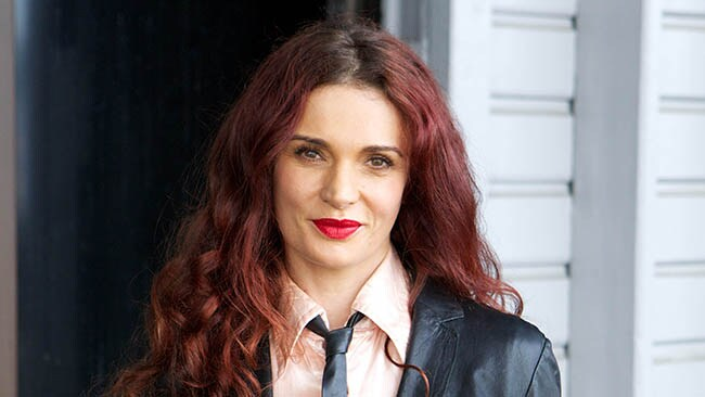 Leading Wentworth lady, Danielle Cormack, at the show's celebration lunch.