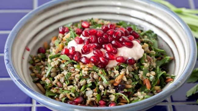 George Calombaris' Cypriot grain salad recipe