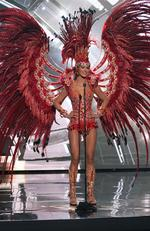 Mariana Jimenez, Miss Venezuela 2015 debuts her National Costume on stage at the 2015 Miss Universe Pagaent on December 16, 2015 in Las Vegas. Picture: HO/The Miss Universe Organization