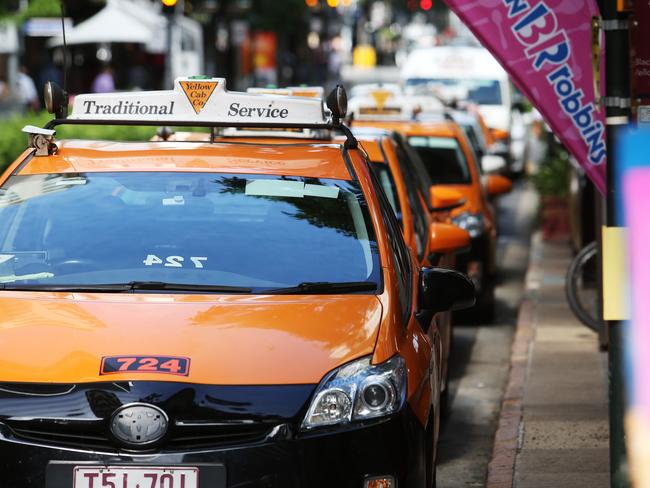 Uber has challenged the taxi industry across the world. Picture: Tara Croser