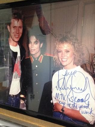 The photo MJ sent Dickie.