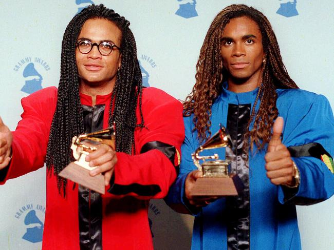 Robert Pilatus and Fab Morvan from Milli Vanilli had their Grammy Awards stripped.