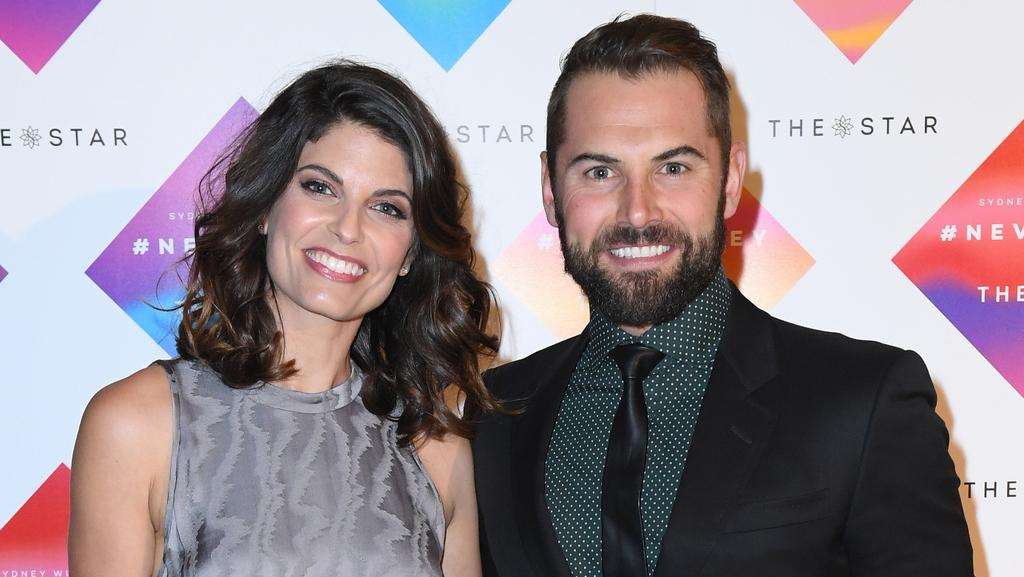 Zoe Ventoura and her husband Daniel MacPherson. Picture: Belinda Rolland