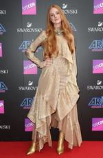 Vera Blue arrives on the red carpet for the 31st Annual ARIA Awards 2017 at The Star on November 28, 2017 in Sydney, Australia. Picture: Richard Dobson