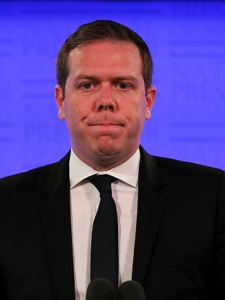 Olive branch to government ... Paul Howes, Australian Workers' Union (AWU) National Secretary, at the National P...