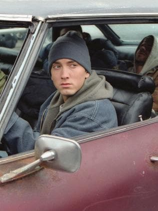 Eminem in 8 Mile.