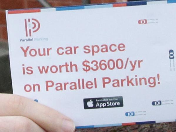 App is 'the Airbnb of parking spots'