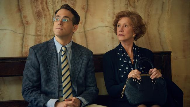 Harvey Weinstein called ... Reynolds takes on Helen Mirren's case in Woman in Gold. Picture: Roadshow