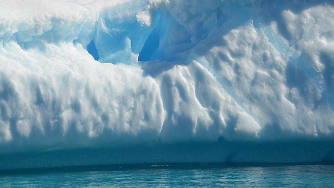 Through the ice on the way to the NorthWest passage. Picture: Belzebub II