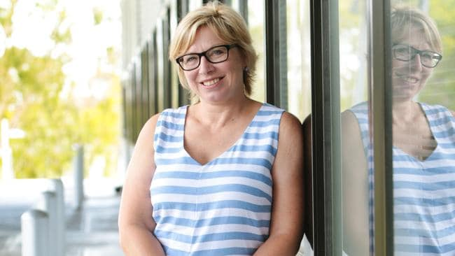 If you're going to pick someone to bully, don't pick Domestic Violence campaigner and Australian of the Year Rosie Battie. Picture: Lachie Millard
