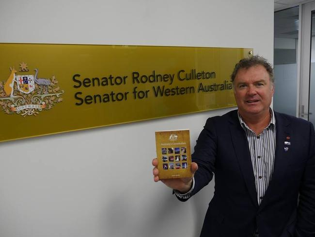 Senator Rod Culleton says he is facing yet another political attack to remove him from the Senate. Picture: Supplied