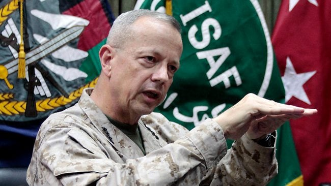 The Petraeus investigation has expanded to include General John Allen, the top US commander in Afghanistan.