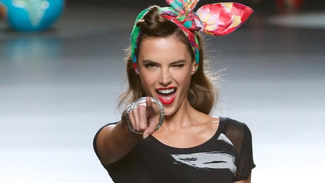 Major mentor ... supermodel Alessandra Ambrosio will help the Australia's Next Top Model finalists with their first-ever photo shoot. Picture: Getty Images