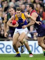 AFL . Round 17 . West Coast Eagles versus Fremantle Dockers at Subiaco Oval , Perth . Darren Glass .