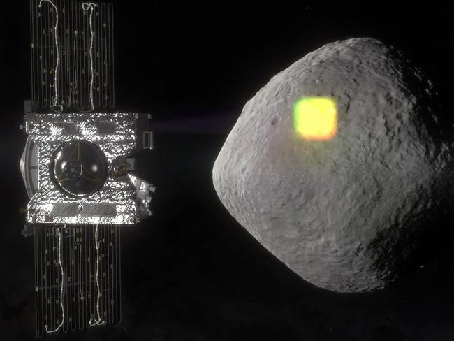 The OSIRIS-Rex probe is on its way to asteroid Bennu to learn what it can about its makeup. Picture: NASA