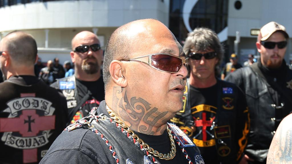 "No <span id=""U60452624556sDD"" style=""letter-spacing:-0.006em;"">torious Tasmanian bikie </span>Aaron ""AJ"" Graham."