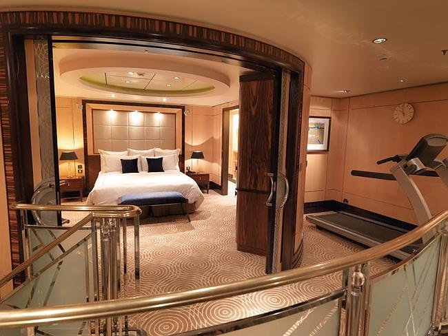 A room on board the QM2.