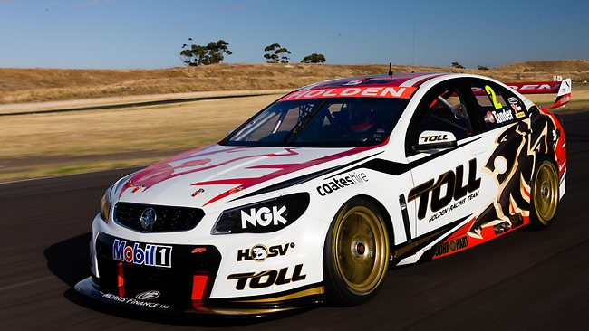 Holden Racing Team unveils its Commodore for the 2013 V8 Supercar championship, in Melbourne today.