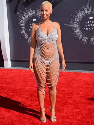 Amber Rose. Picture: AP