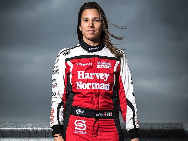 Simona De Silvestro is determined to the finish the season on a high.