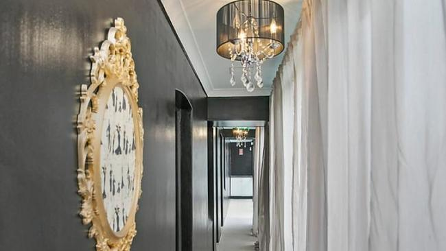 Racy address: 52 Kellett St, Potts Point has undergone a makeover since it was listed two years ago.