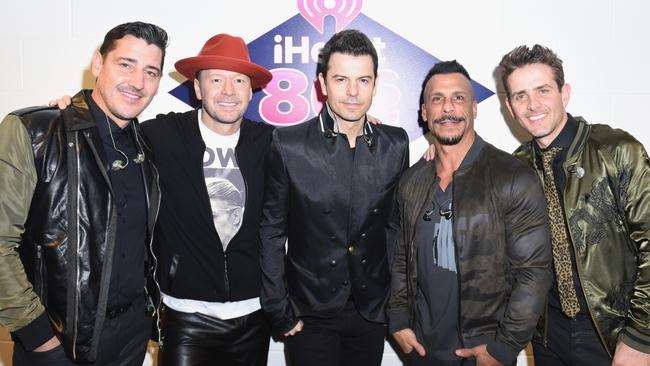 New Kids On The Block still Hangin' Tough two decades after their heyday. Picture: Getty