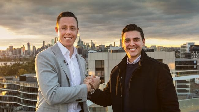 Whitefox's Ryan Fisher and Marty Fox sold the penthouse within about two months of taking on the listing last year.