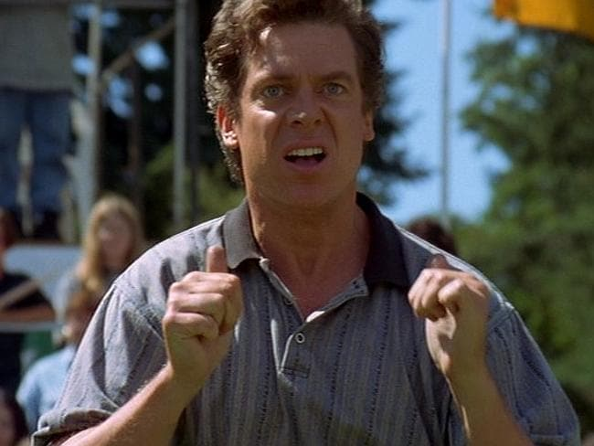 "Belanger: ""I have golfed with  <i>Happy Gilmore</i>'s Shooter McGavin (and won!)""."