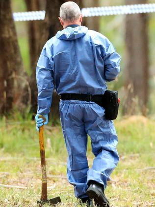 A woman's body has been found in scrubland outside Mt Macedon. Picture: Mark Stewart
