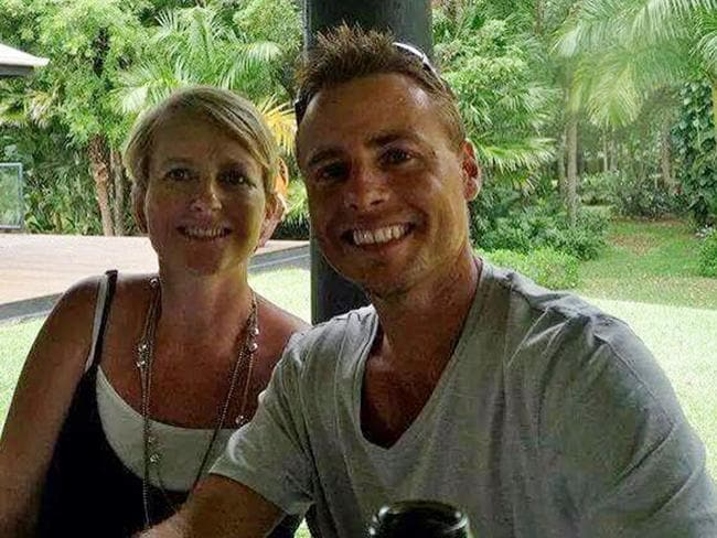 Missing Noosa man Peter Maynard and wife Kylie.