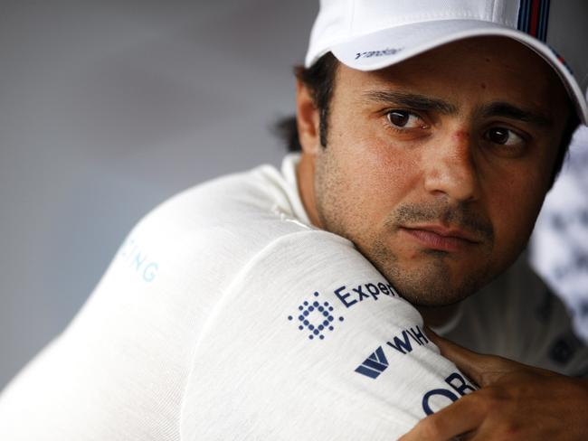 Williams' best driver, Felipe Massa.