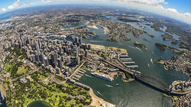 Sydney is the most expensive place to live in Australia. Picture: Destination NSW.