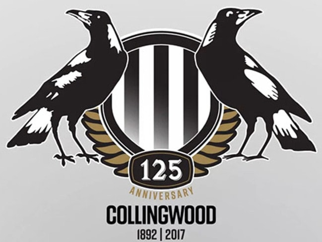 Collingwood's new logo for 2017.