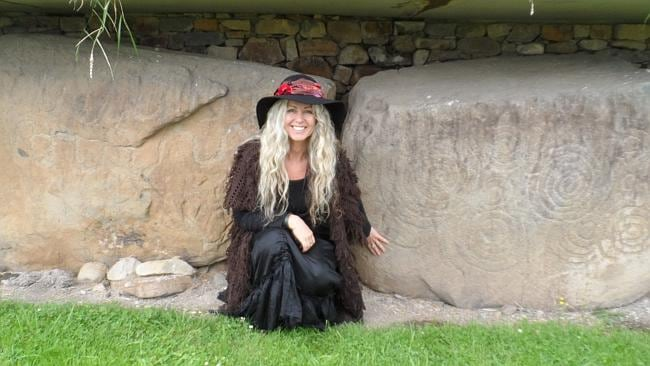The former journalist turned professional witch in 1986. Picture: Supplied