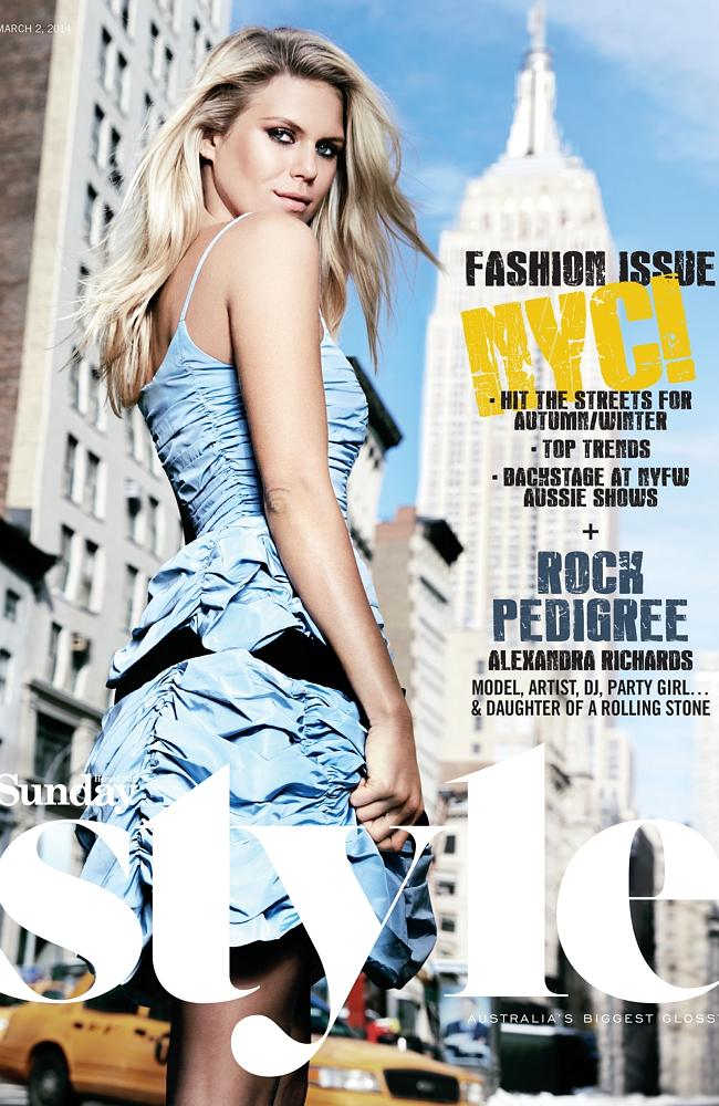 The newest edition of Sunday Style is out today.