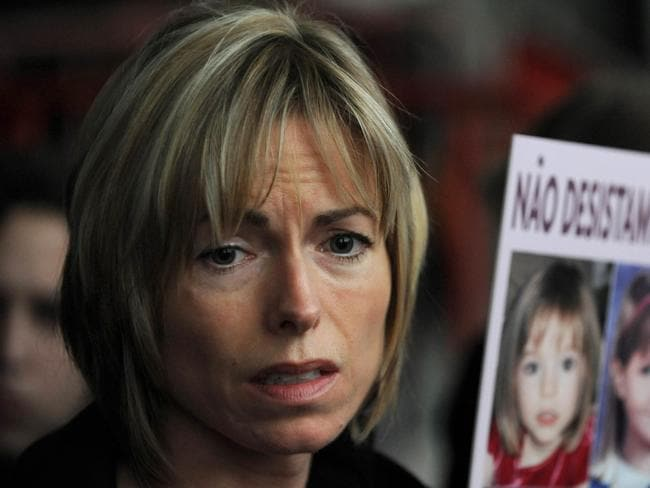 """Kate McCann has described how she is haunted by harrowing visions of her daughter and is stuck in an """"endless bad dream"""" in extracts from a new book printed in 2011. Photo: AFP"""
