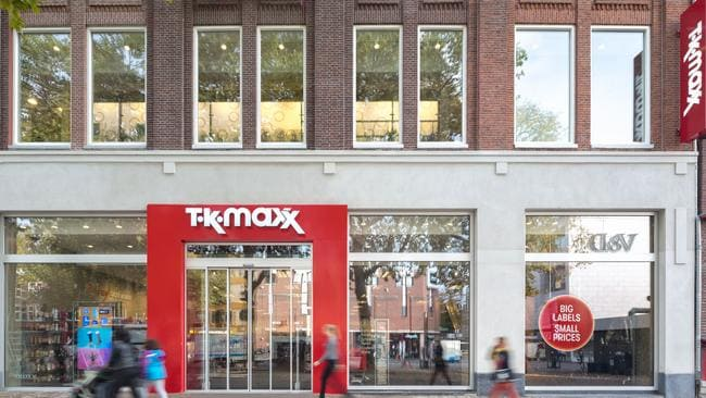 It's TK Maxx in Australia but TJ Maxx in the US.