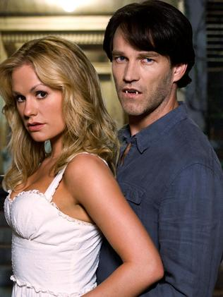 Anna Paquin and Stephen Moyer are now parents to twins. Picture: HBO