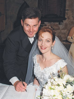 Gerard Baden-Clay and Allison Dickie marry in 1997.
