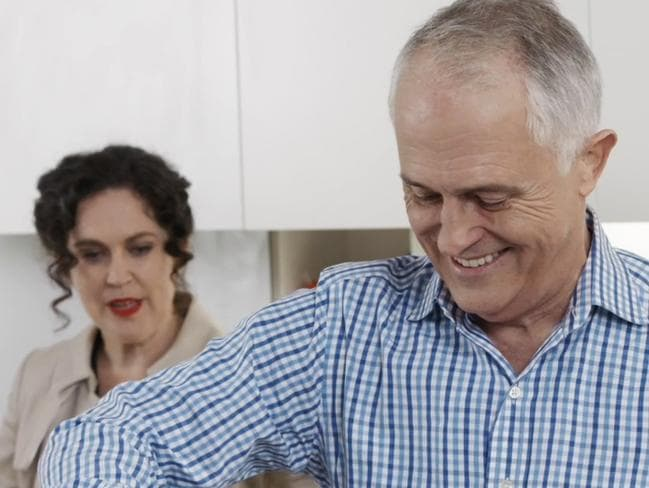 Federal Election 2016: Malcolm Turnbull on ABC's Kitchen
