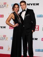 Isabella Giovinazzo and Nic Westaway arrive at the 2014 Logie Awards at Crown Palladium on April 27, 2014 in Melbourne, Australia. (Photo by Robert Prezioso/Getty Images)