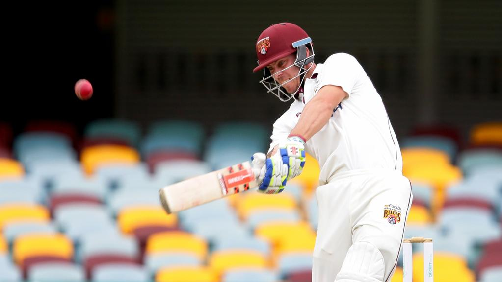 Chris Lynn is back for Queensland's final Sheffield Shield clash. Picture: Darren England