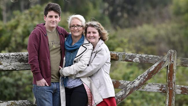 Robyn opted for a mastectomy in March this year over breast conservation and radio therapy because travelling to and from Newcaslte for five days for five weeks was just too much