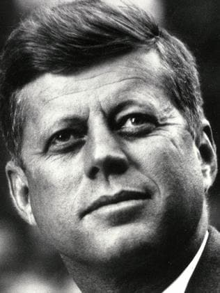 JFK was assassinated in 1963. Picture: AFP