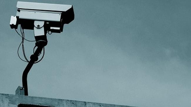 Security surveillance cameras and CCTV is increasingly part of city landscapes. Picture: Supplied.
