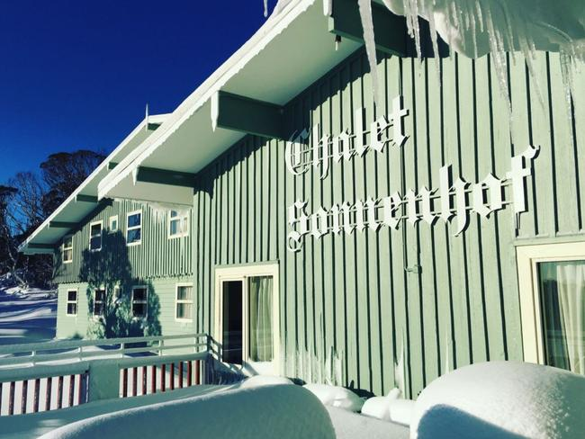 Perisher Valley's Chalet Sonnenhof where the alleged sexual assault took place. Picture: Trip Advisor