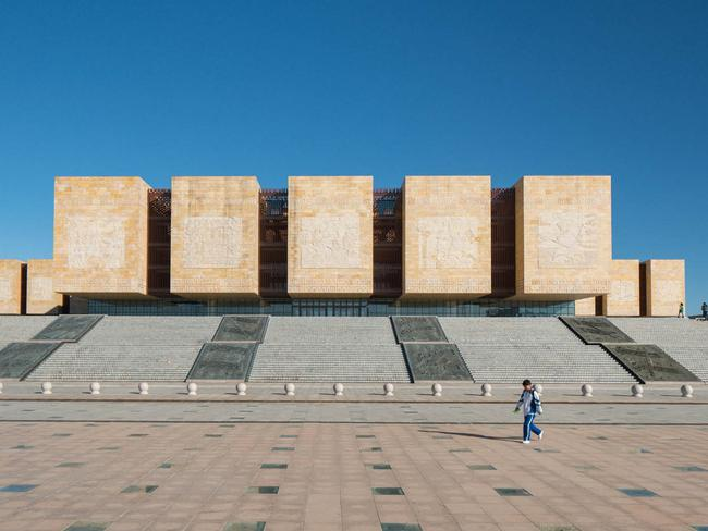 The Chinese Government had high hopes for Ordos. Picture: Raphael Olivier